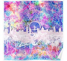 London skyline abstract 2 Poster