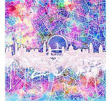 London skyline abstract 2 Photographic Print