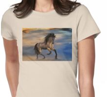 Cosmic .. Wild Stallion Womens Fitted T-Shirt