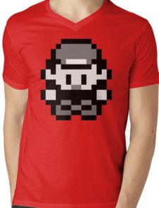 Pokemon Red Mens V-Neck T-Shirt