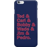 Boston Red Sox Hall of Fame iPhone Case/Skin