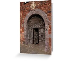 Exeter Door Greeting Card