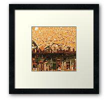 London skyline abstract 3 Framed Print