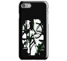 Bike Mash Silhouette  iPhone Case/Skin