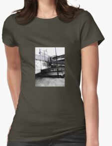 Steps To Oblivion Womens Fitted T-Shirt