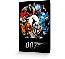 The Incredible World Of 007 Greeting Card
