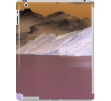 Austrian Mountains in a Psychedelic theme iPad Case/Skin