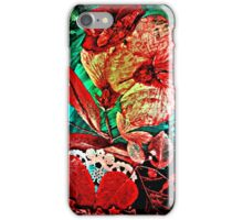 Hibiscus and Rose Love iPhone Case/Skin