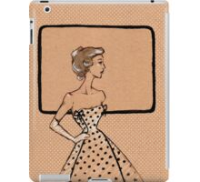 The dot gown iPad Case/Skin