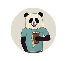 Panda Pop Photographic Print