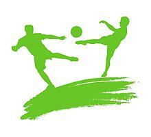 Soccer Players by Emir Simsek