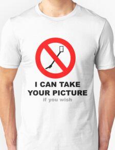Selfies with a friend - Selfie stick verboten T-Shirt