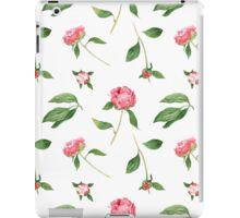 Romantic watercolor Peonies iPad Case/Skin