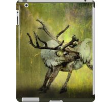 Caribou and the Northern Lights iPad Case/Skin