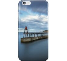 Windy Day At Whitby iPhone Case/Skin