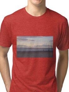 Almost Empty Beach  Tri-blend T-Shirt