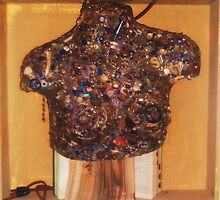 torso bejewelled by Cynthia  Church