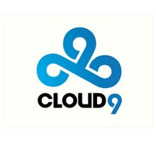CLOUD 9 GAMING Art Print