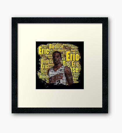Eric Bledsoe Word Art Framed Print