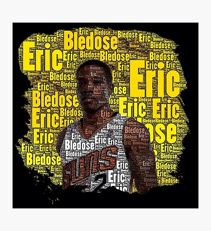 Eric Bledsoe Word Art Photographic Print