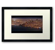 San Francisco Fog Framed Print