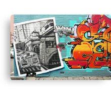 Melburn Graffiti! Canvas Print