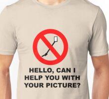 Selfies with a friend - Selfie stick verboten 2 Unisex T-Shirt