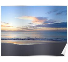 Beach Blue Poster