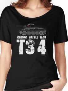 T34 TANK Women's Relaxed Fit T-Shirt