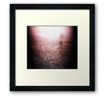 Thoughts on Time Framed Print