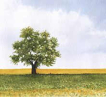Lonely Tree by aakritiarts