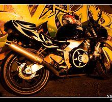 250cc at Graffiti Wall by statikillusions