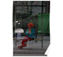 Big Mac – reflected  Poster