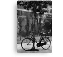 Bicicleta (I guess I do speak Spanish) Canvas Print