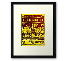 Fight Night 02 Framed Print