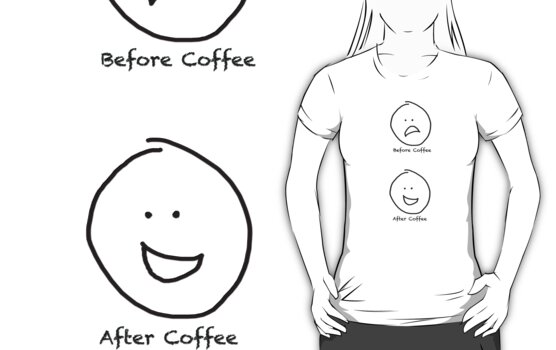 Before Coffee... After Coffee by Ainsley Kellar Creations