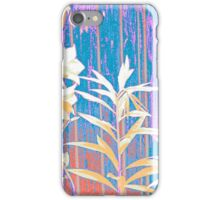 Bellflowers-Picture in gentle and smooth colours iPhone Case/Skin