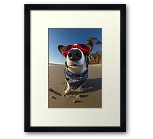 Love Goggles Framed Print