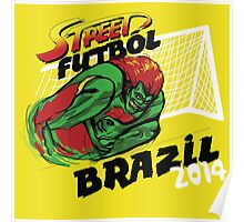 Street Futbol Brazil 2014 Poster