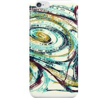 Spiral Streams of Sunshine iPhone Case/Skin