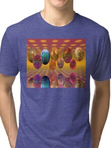 Psychedelic Easter Tri-blend T-Shirt