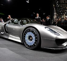 World's First Viewing of the Porsche 918 Spyder .... by M-Pics