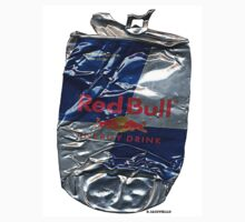 Crushed Pop Art (RED BULL) by Dick  Iacovello