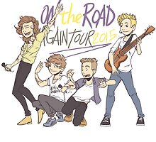 On The Road Again by Aki-anyway