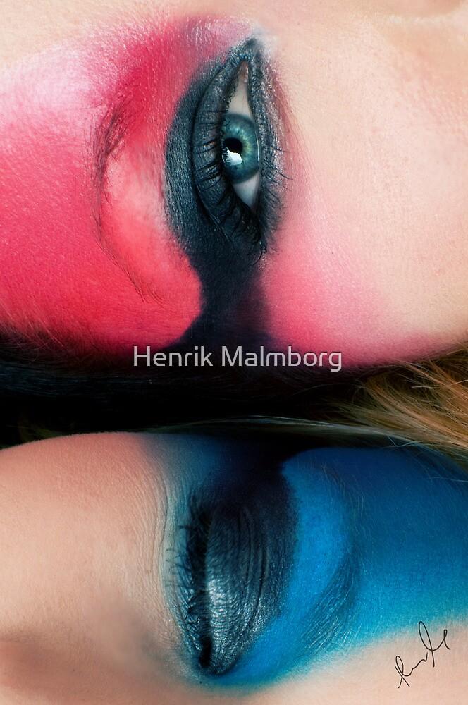 Color me Red & Think Blue! by Henrik Malmborg