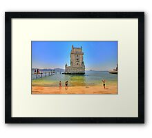 Belém colors Framed Print
