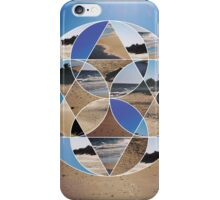 Abstract geometric photo iPhone Case/Skin