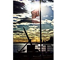 Stonington Fisherman's Memorial Photographic Print
