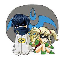 Chroman and Robin Photographic Print