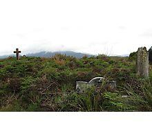 Colonial Graveyard Photographic Print